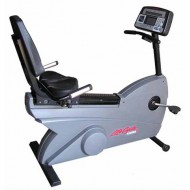 Bicicleta Life Fitness 9500hr recumbent (dove tail) (Reconditionat)